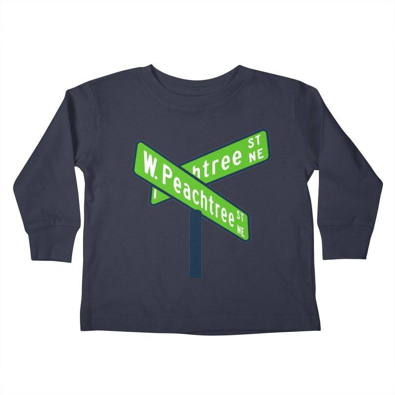 Peachtree Streets Kids Toddler Longsleeve T-Shirt by