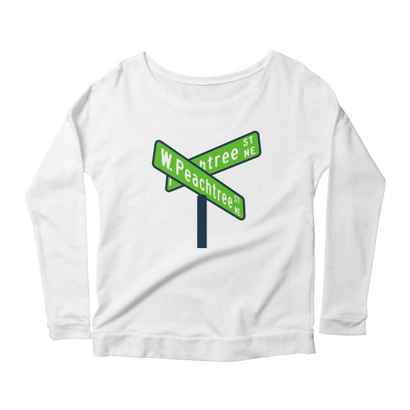 Peachtree Streets Women's Scoop Neck Longsleeve T-Shirt by