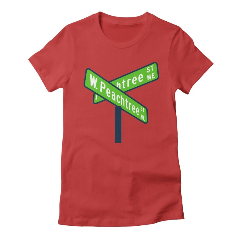 Peachtree Streets Women's Fitted T-Shirt by