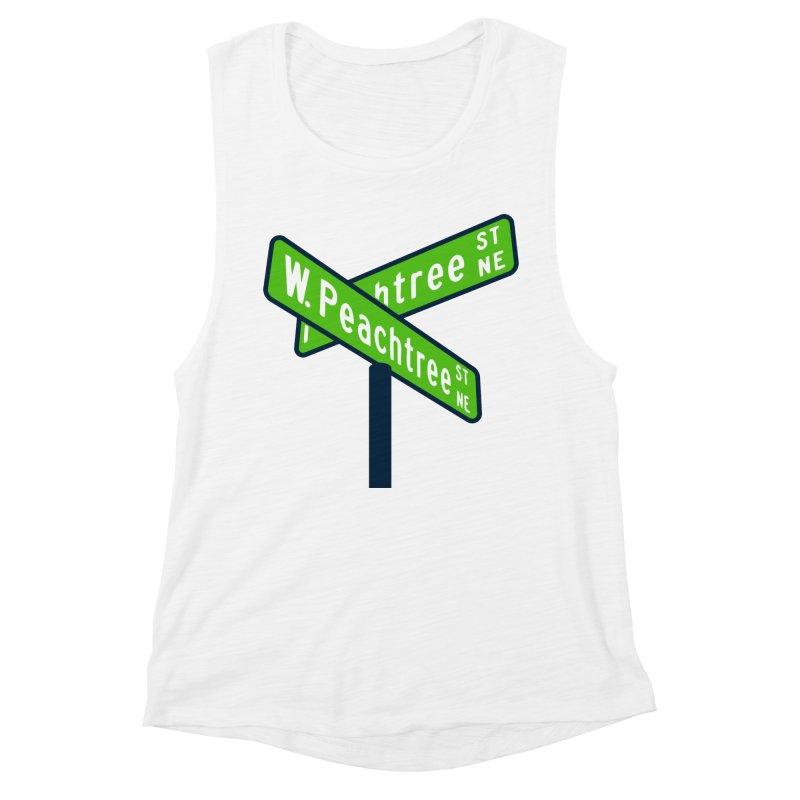 Peachtree Streets Women's Muscle Tank by
