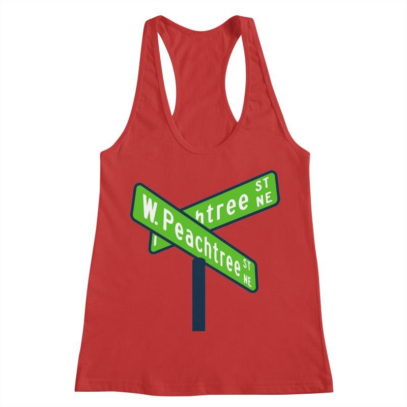 Peachtree Streets Women's Racerback Tank by