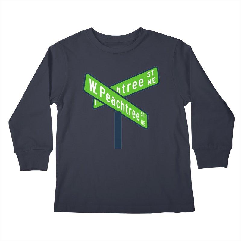 Peachtree Streets Kids Longsleeve T-Shirt by
