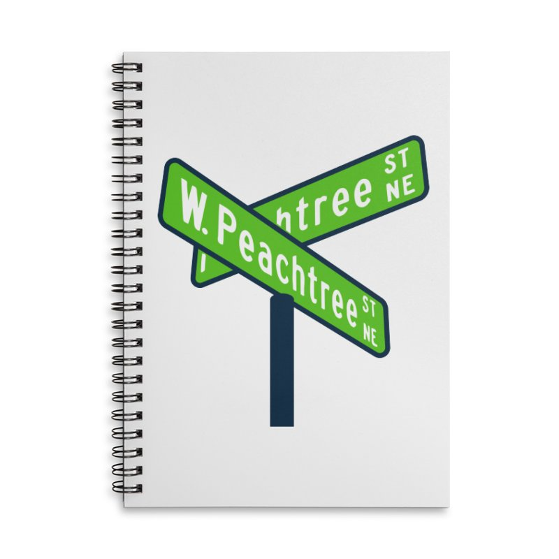 Peachtree Streets Accessories Lined Spiral Notebook by