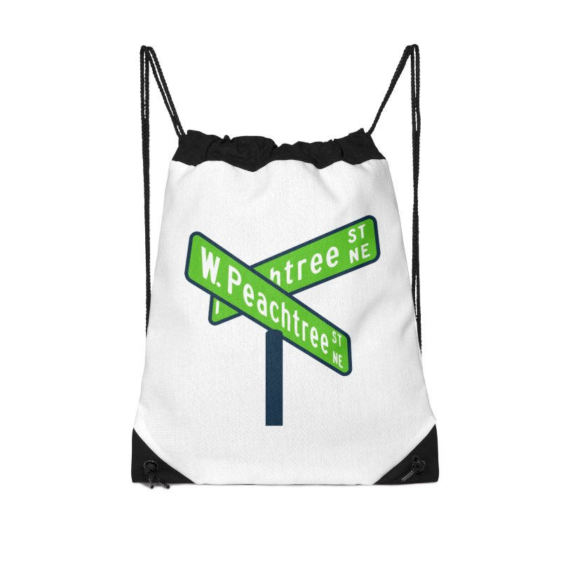 Peachtree Streets Accessories Drawstring Bag Bag by