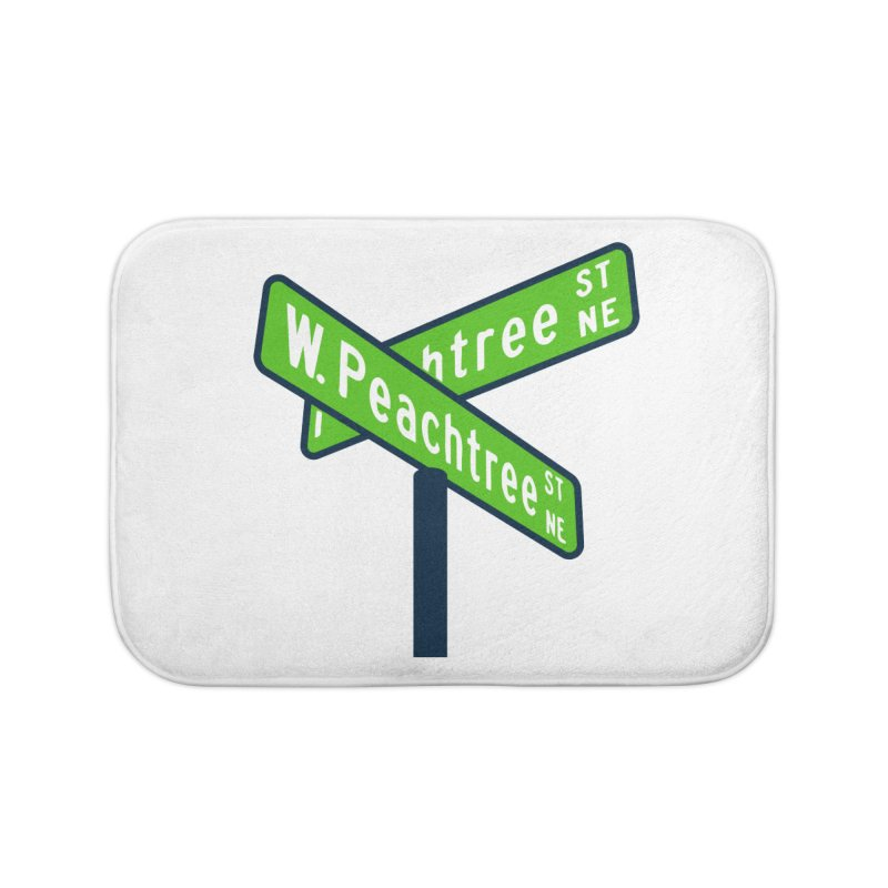 Peachtree Streets Home Bath Mat by