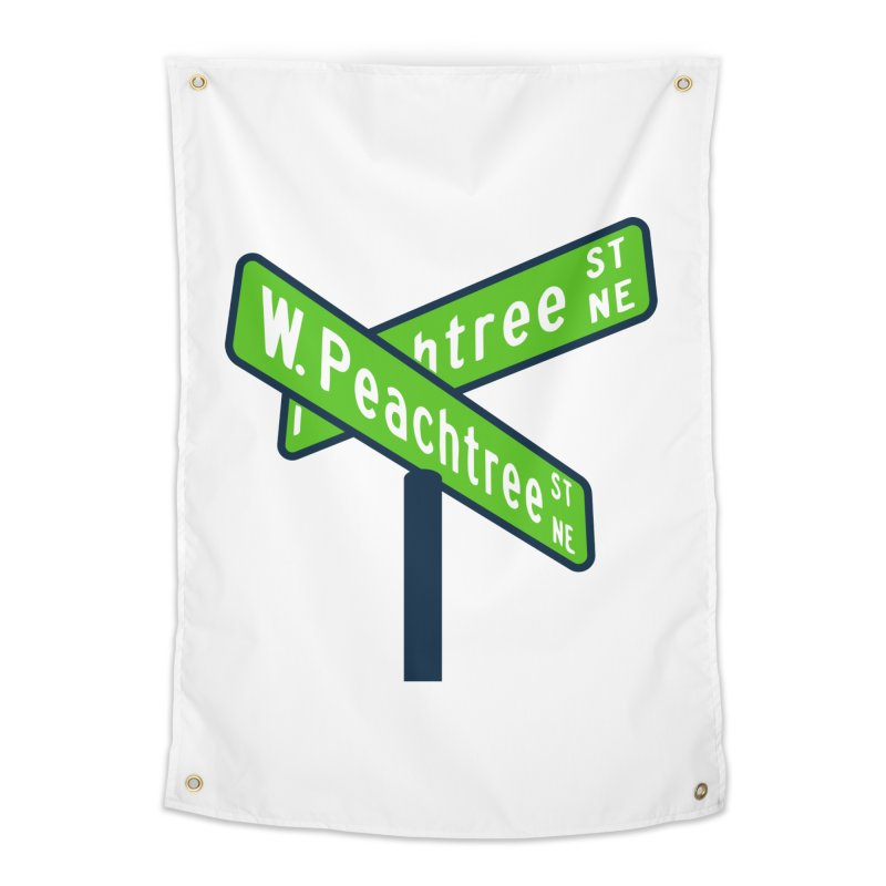 Peachtree Streets Home Tapestry by