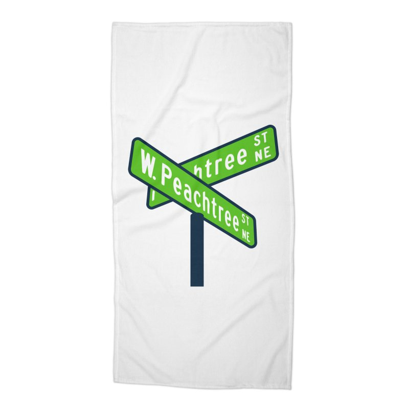 Peachtree Streets Accessories Beach Towel by
