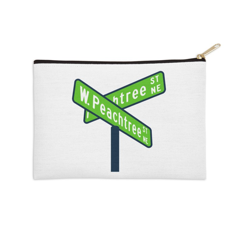 Peachtree Streets Accessories Zip Pouch by