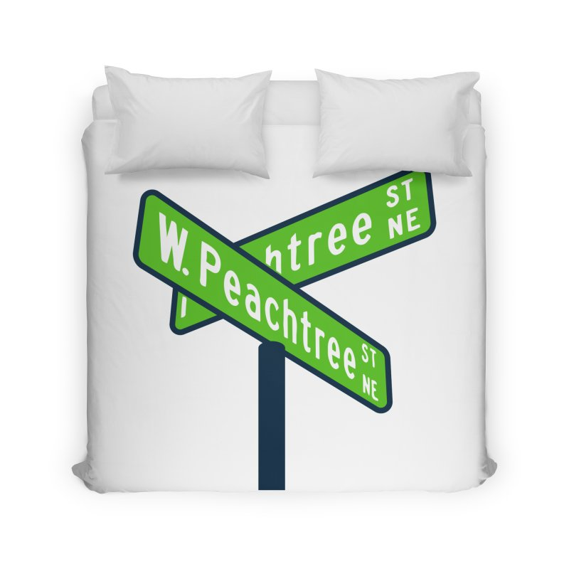 Peachtree Streets Home Duvet by