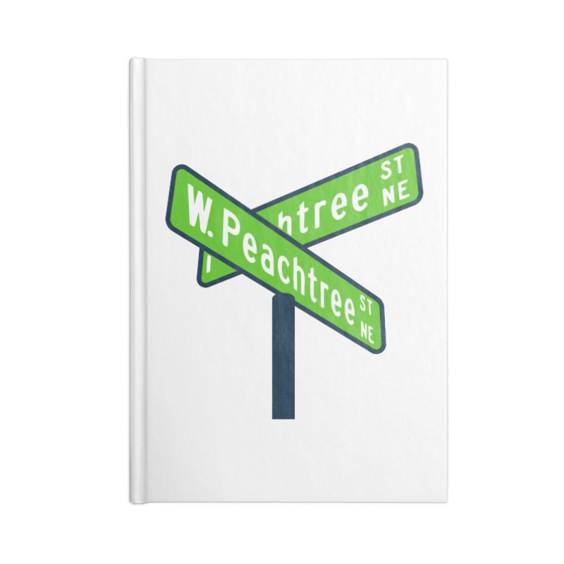 Peachtree Streets Accessories Lined Journal Notebook by