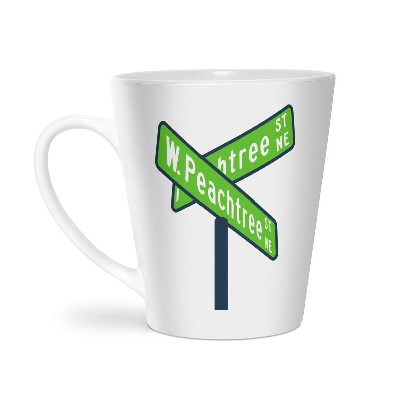 Peachtree Streets Accessories Latte Mug by