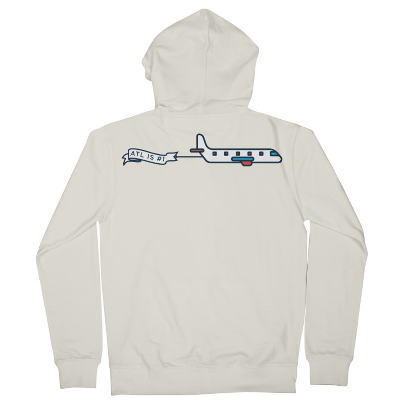 Plane Men's French Terry Zip-Up Hoody by