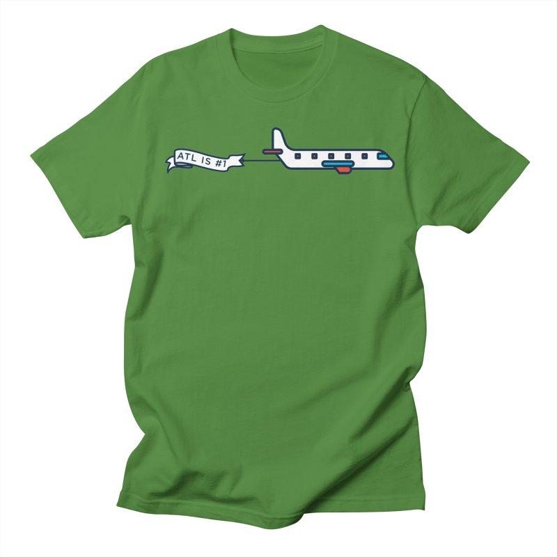 Plane Men's Regular T-Shirt by