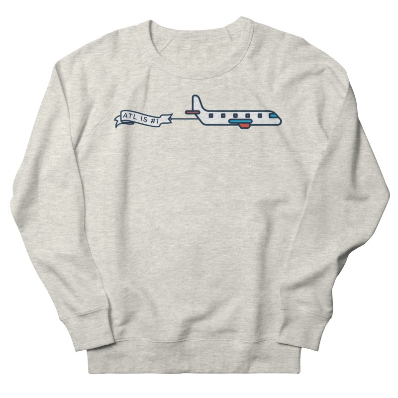 Plane Men's French Terry Sweatshirt by