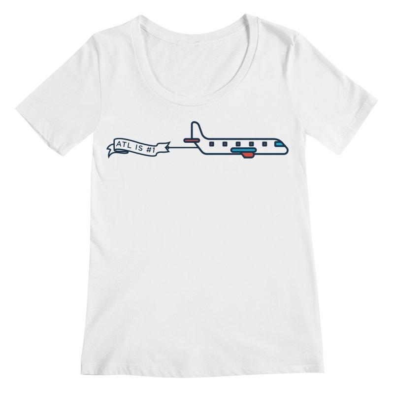Plane Women's Regular Scoop Neck by