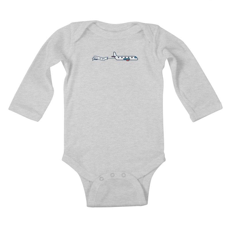 Plane Kids Baby Longsleeve Bodysuit by