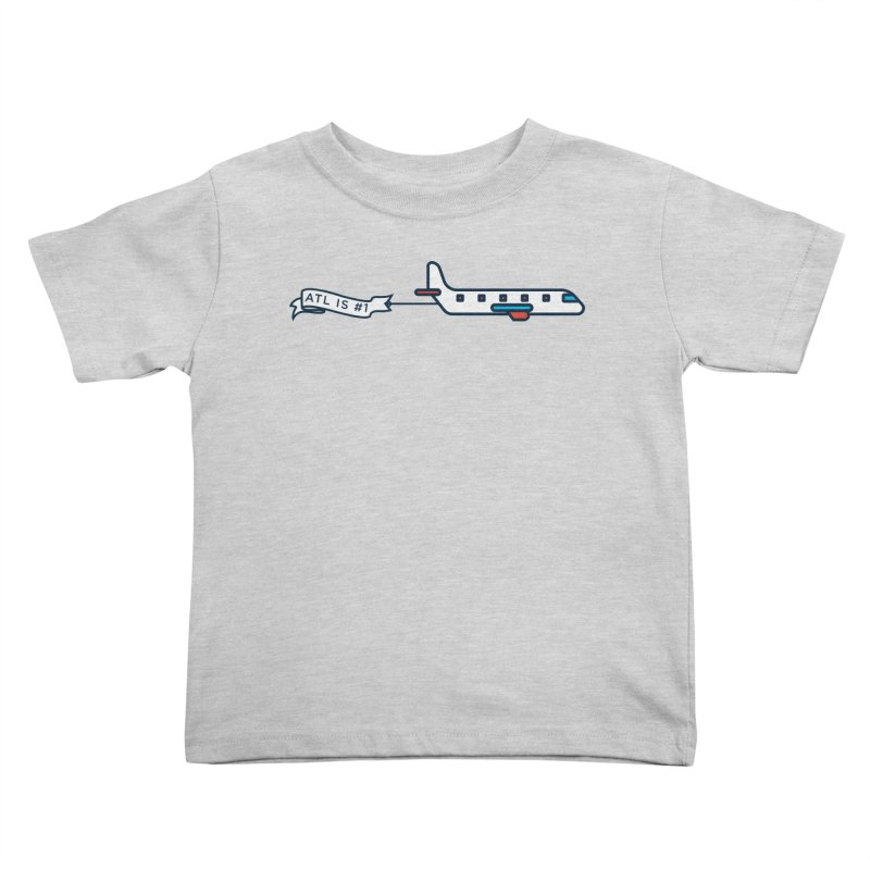 Plane Kids Toddler T-Shirt by
