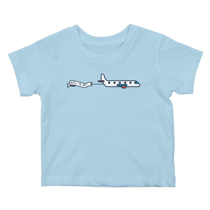Plane Kids Baby T-Shirt by