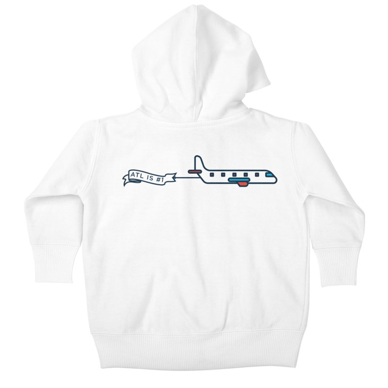Plane Kids Baby Zip-Up Hoody by
