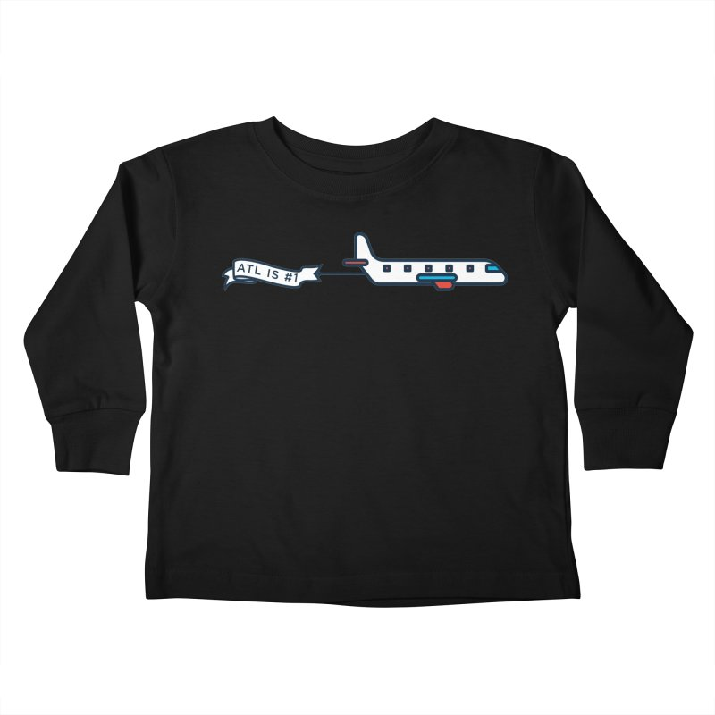 Plane Kids Toddler Longsleeve T-Shirt by
