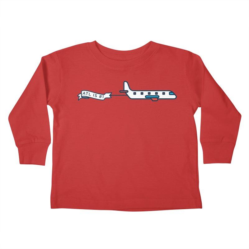 Plane Kids Toddler Longsleeve T-Shirt by