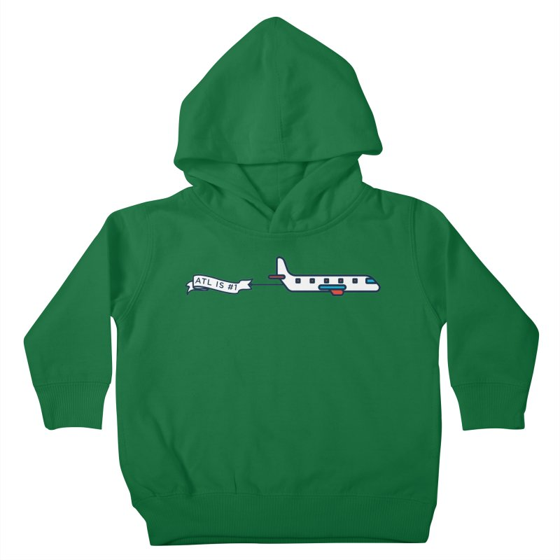 Plane Kids Toddler Pullover Hoody by