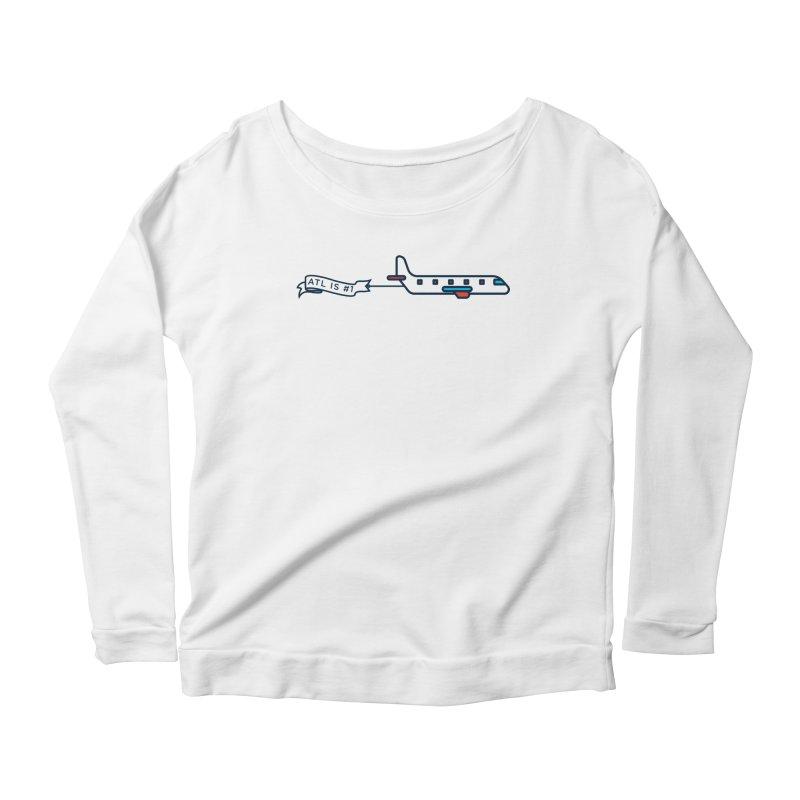 Plane Women's Scoop Neck Longsleeve T-Shirt by