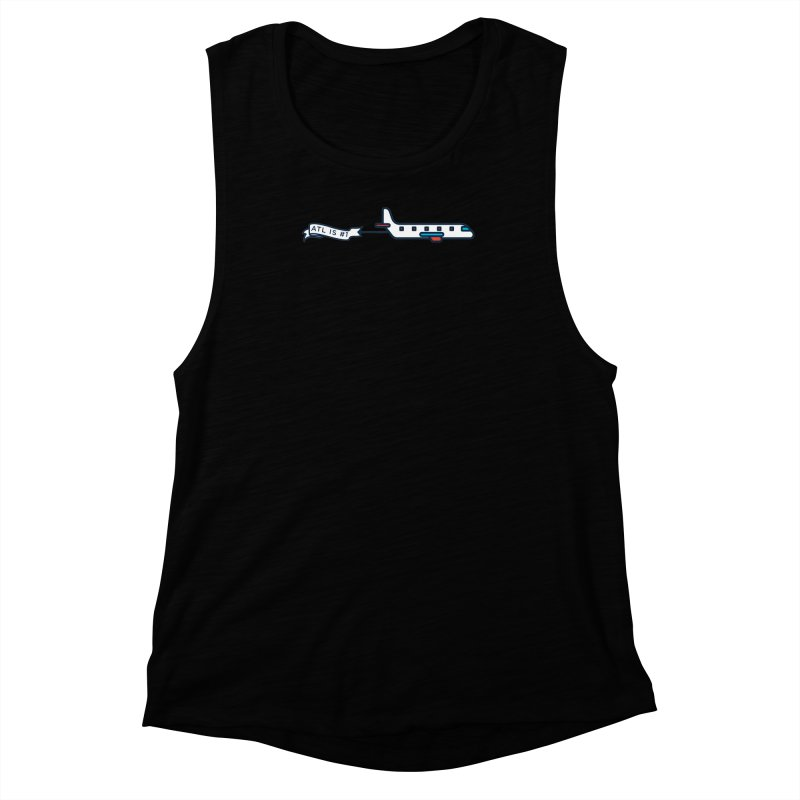 Plane Women's Muscle Tank by