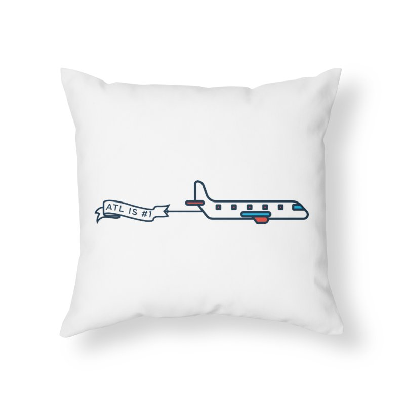 Plane Home Throw Pillow by