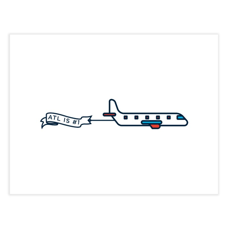Plane Home Fine Art Print by