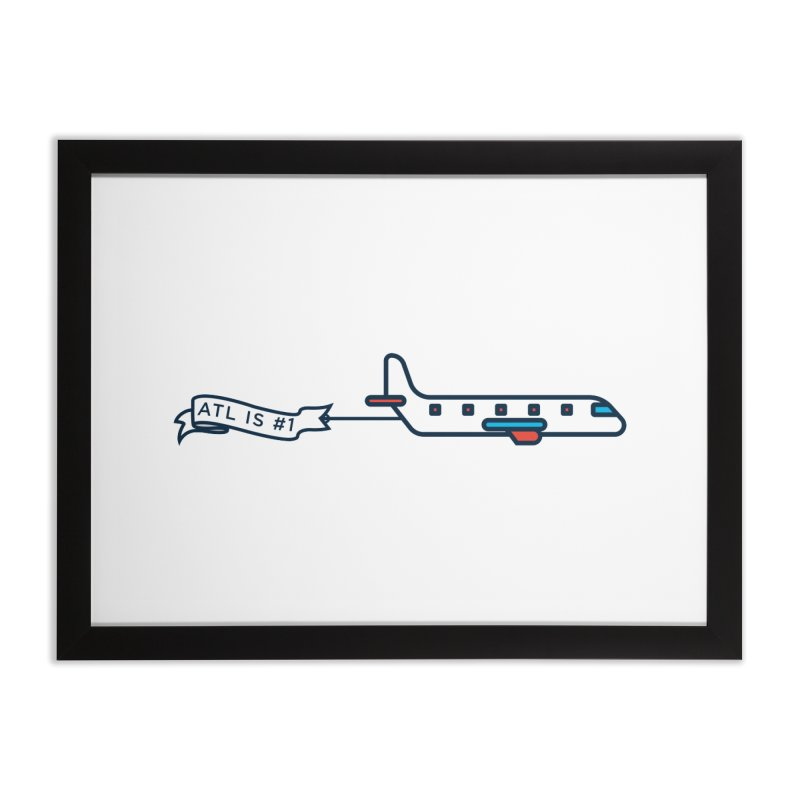 Plane Home Framed Fine Art Print by