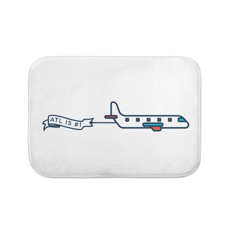 Plane Home Bath Mat by