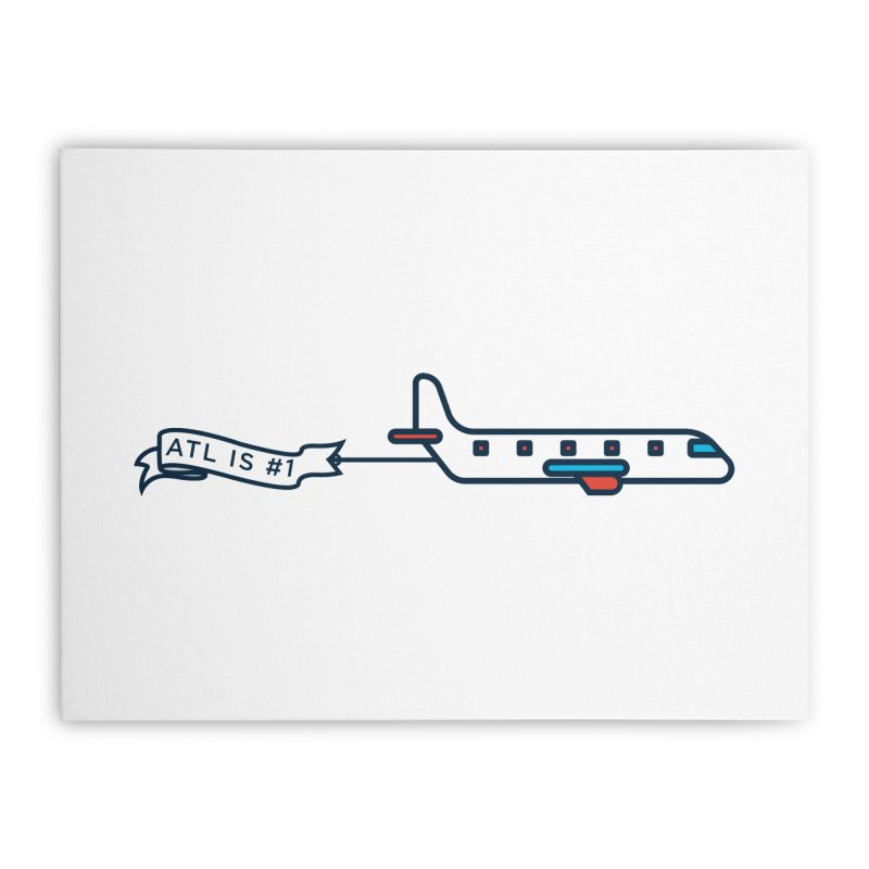 Plane Home Stretched Canvas by