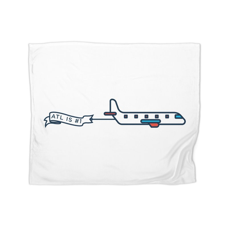 Plane Home Fleece Blanket Blanket by