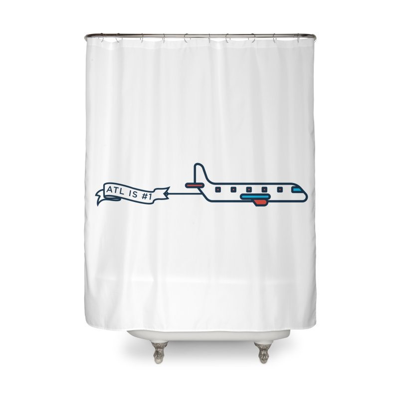 Plane Home Shower Curtain by