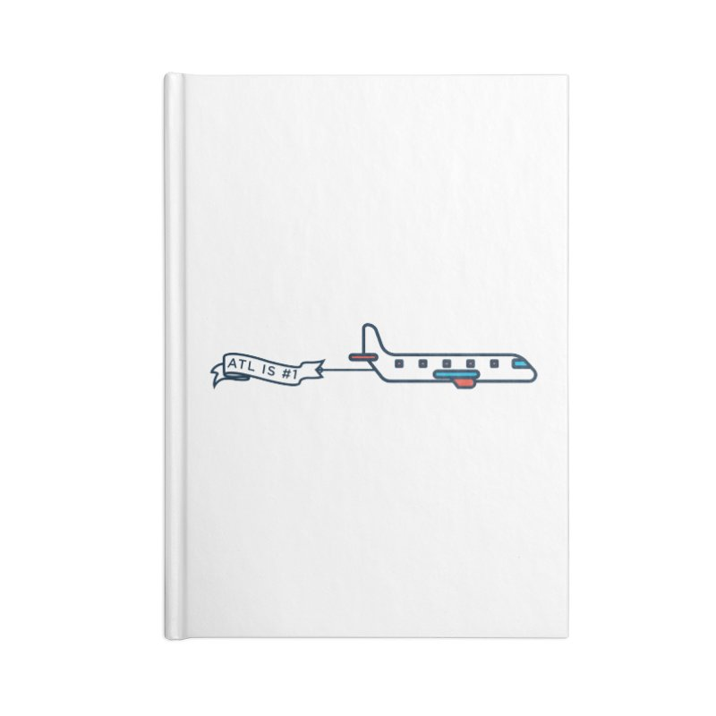 Plane Accessories Blank Journal Notebook by