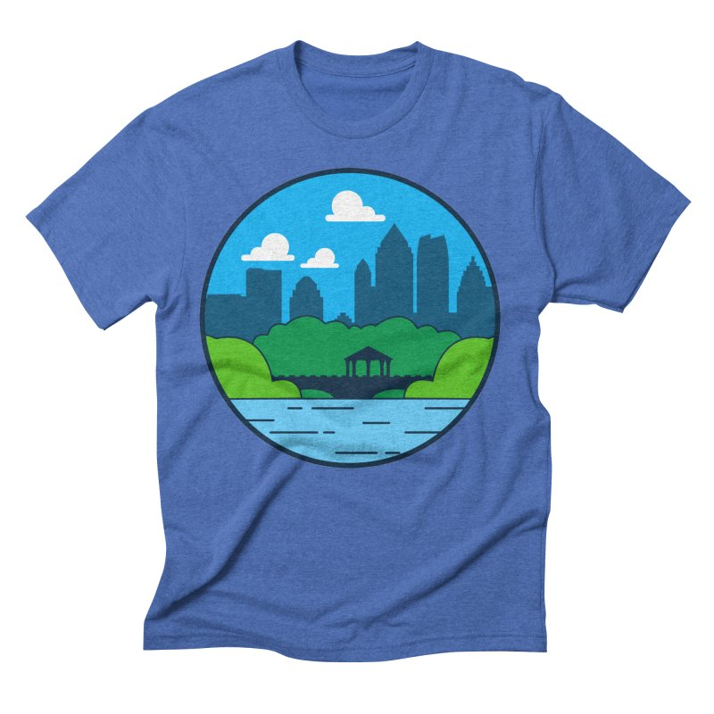 Piedmont Park Men's Triblend T-Shirt by