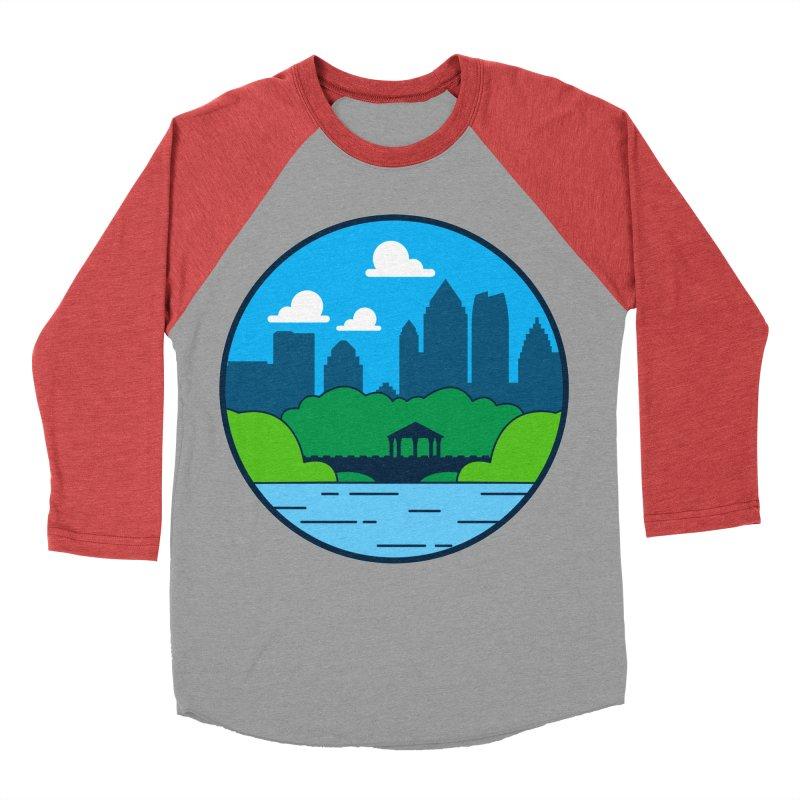 Piedmont Park Men's Baseball Triblend Longsleeve T-Shirt by