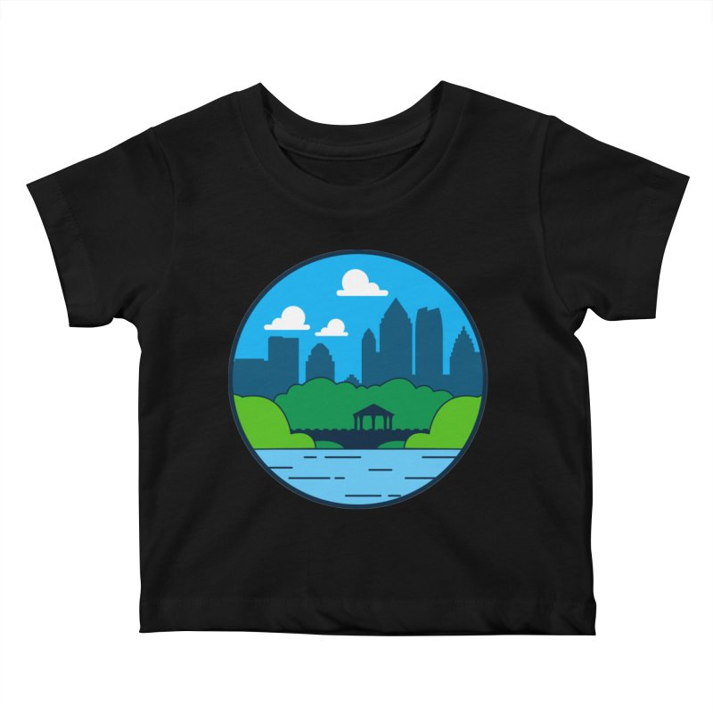Piedmont Park Kids Baby T-Shirt by