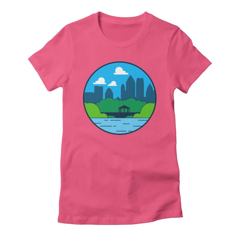 Piedmont Park Women's Fitted T-Shirt by