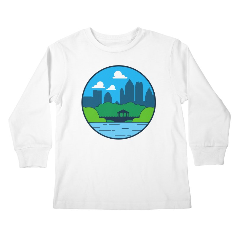 Piedmont Park Kids Longsleeve T-Shirt by
