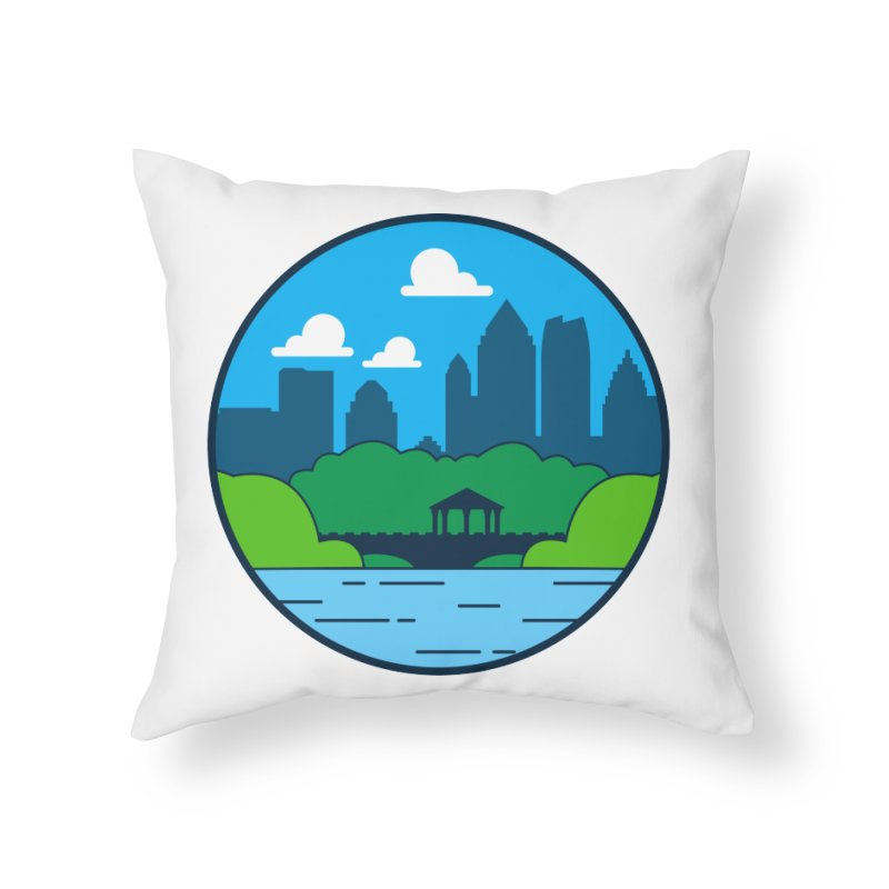 Piedmont Park Home Throw Pillow by