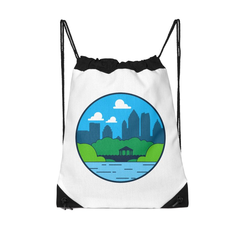 Piedmont Park Accessories Drawstring Bag Bag by