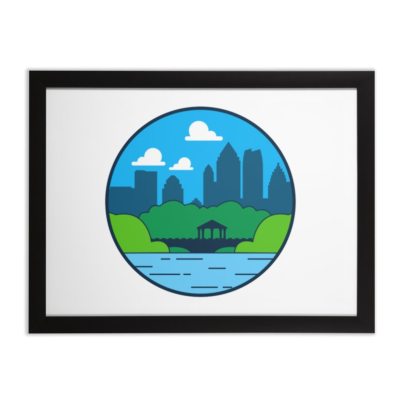 Piedmont Park Home Framed Fine Art Print by