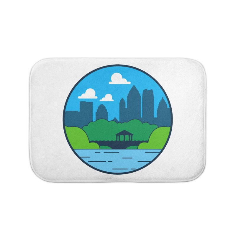Piedmont Park Home Bath Mat by
