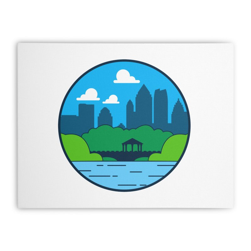Piedmont Park Home Stretched Canvas by
