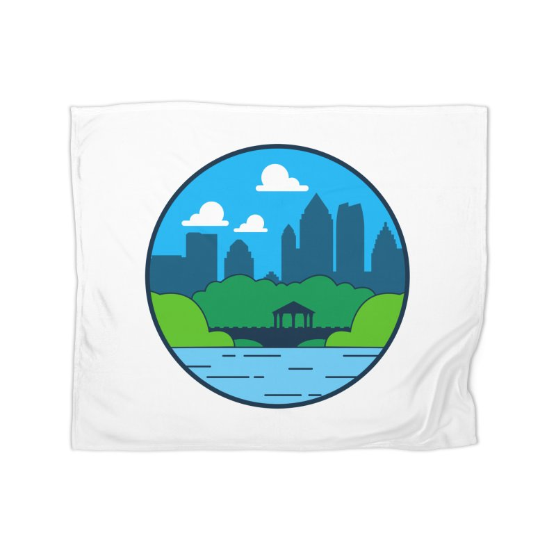 Piedmont Park Home Fleece Blanket Blanket by