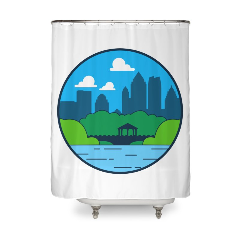 Piedmont Park Home Shower Curtain by