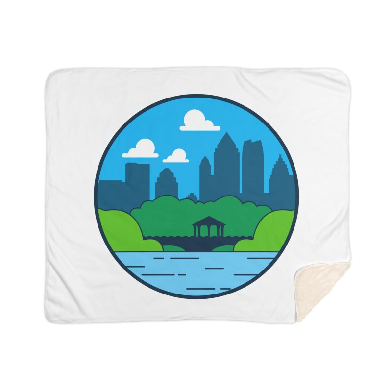 Piedmont Park Home Sherpa Blanket Blanket by