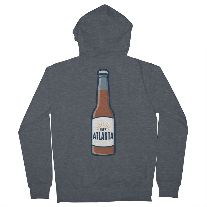Brew Atlanta Men's French Terry Zip-Up Hoody by
